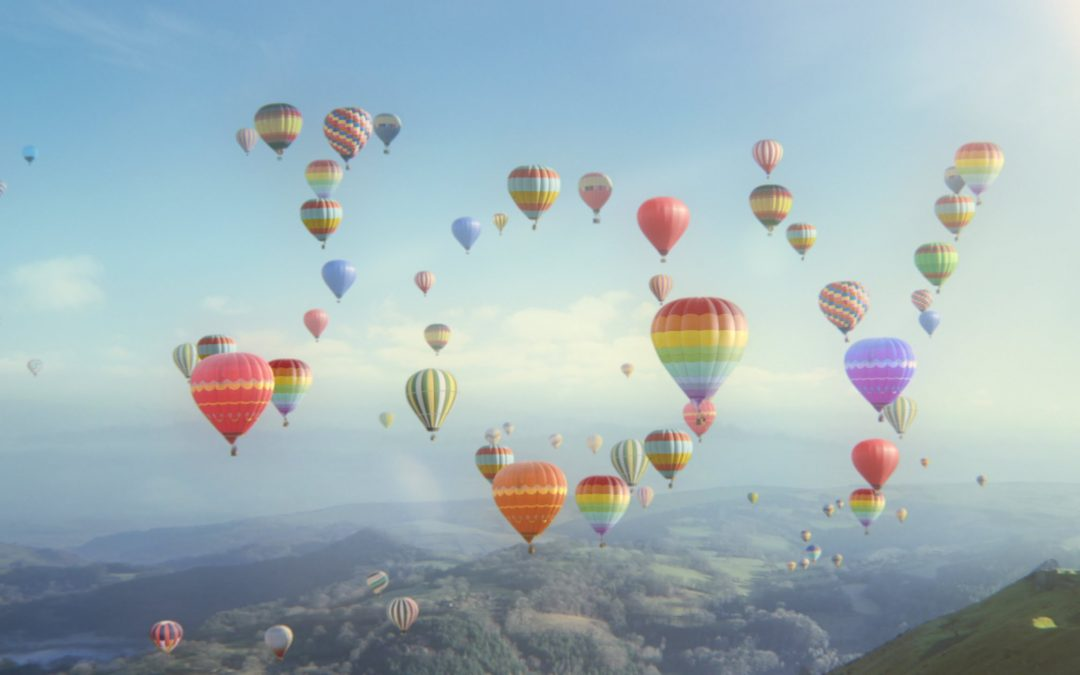 hot air balloons on joy